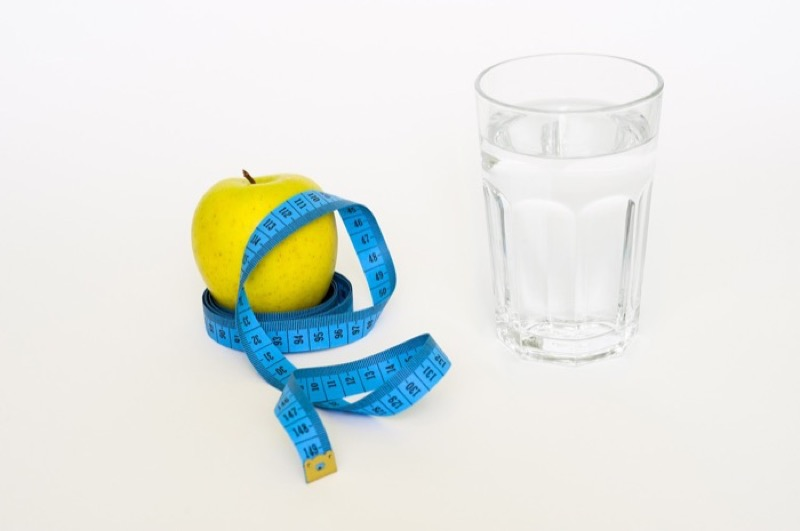 get rid of lower belly fat - drink water