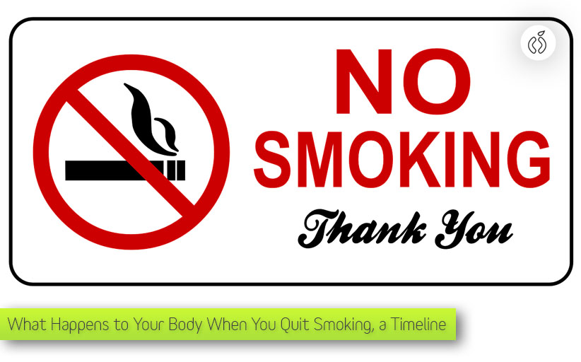 What Happens to Your Body When You Quit Smoking. A Timeline