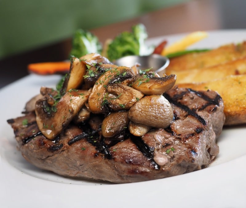beef steak mushrooms