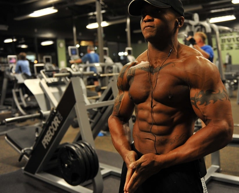 bodybuilder abs healthy