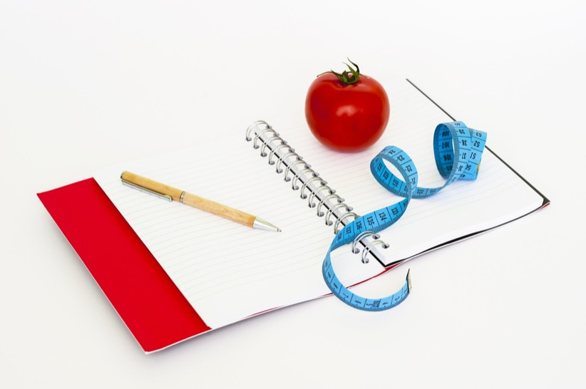 diet plan notebook