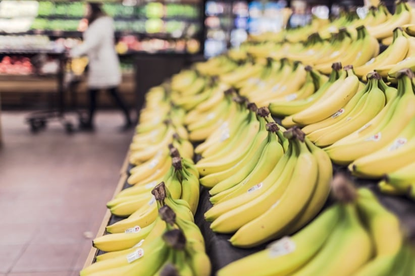 bananas supermarket