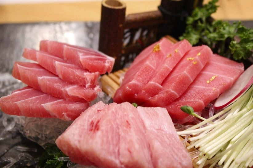 Salmon Tuna Raw Fish