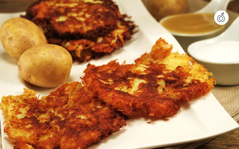 Crispy Sweet Potato Hash Browns